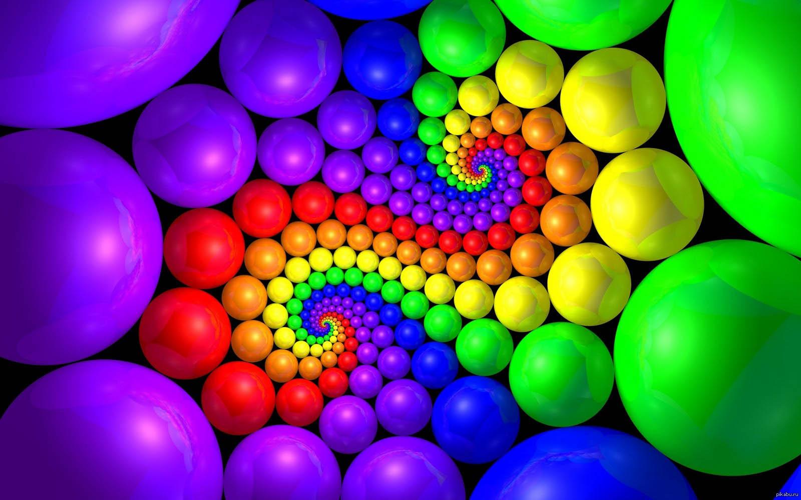 Очень разноцветные картинки