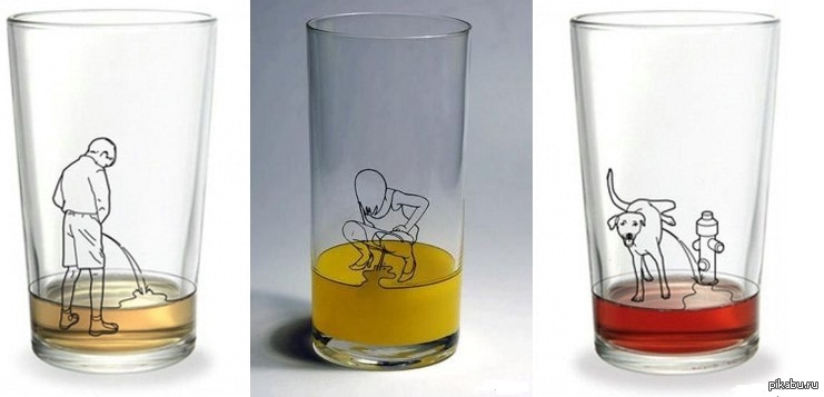 обнаруживают прикольные рисунки на стаканы год был