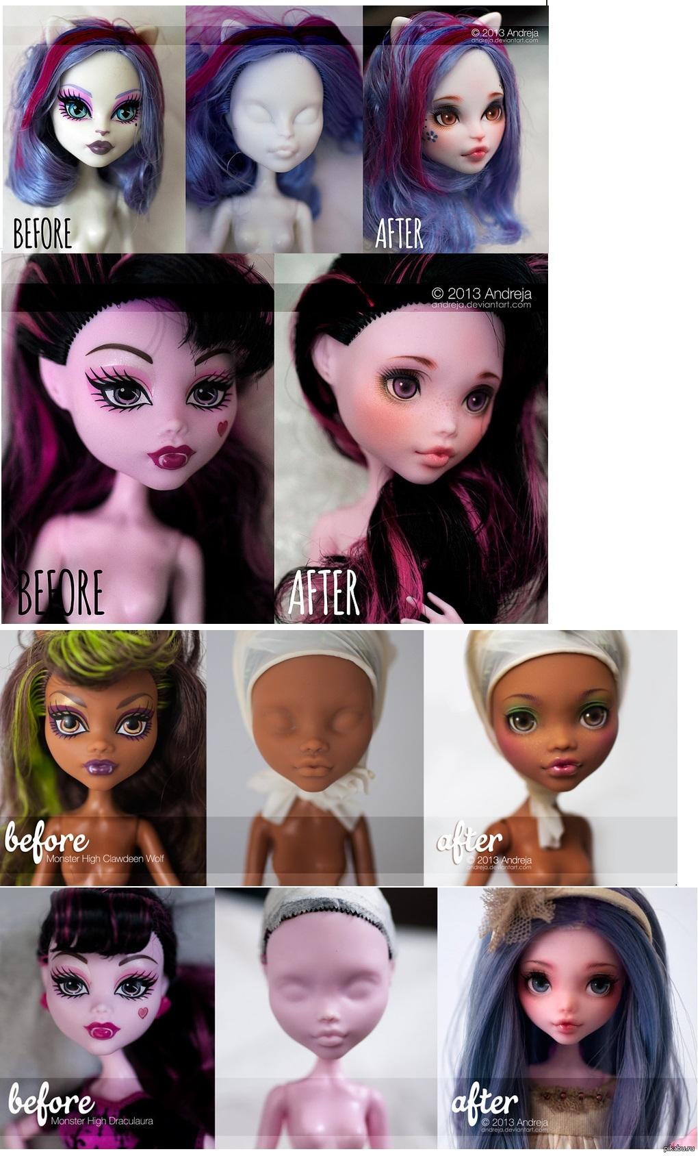 Смотреть Как накрасить глаза, как у куклы видео