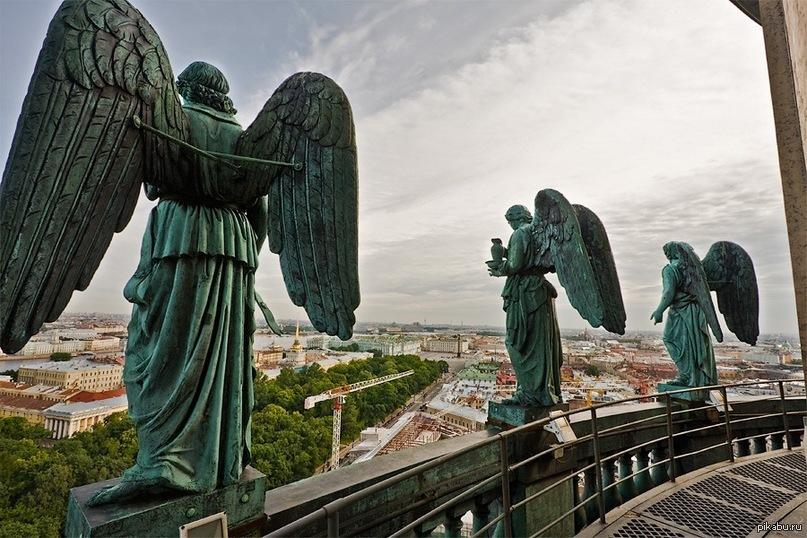 ангелы в санкт-петербурге картинки