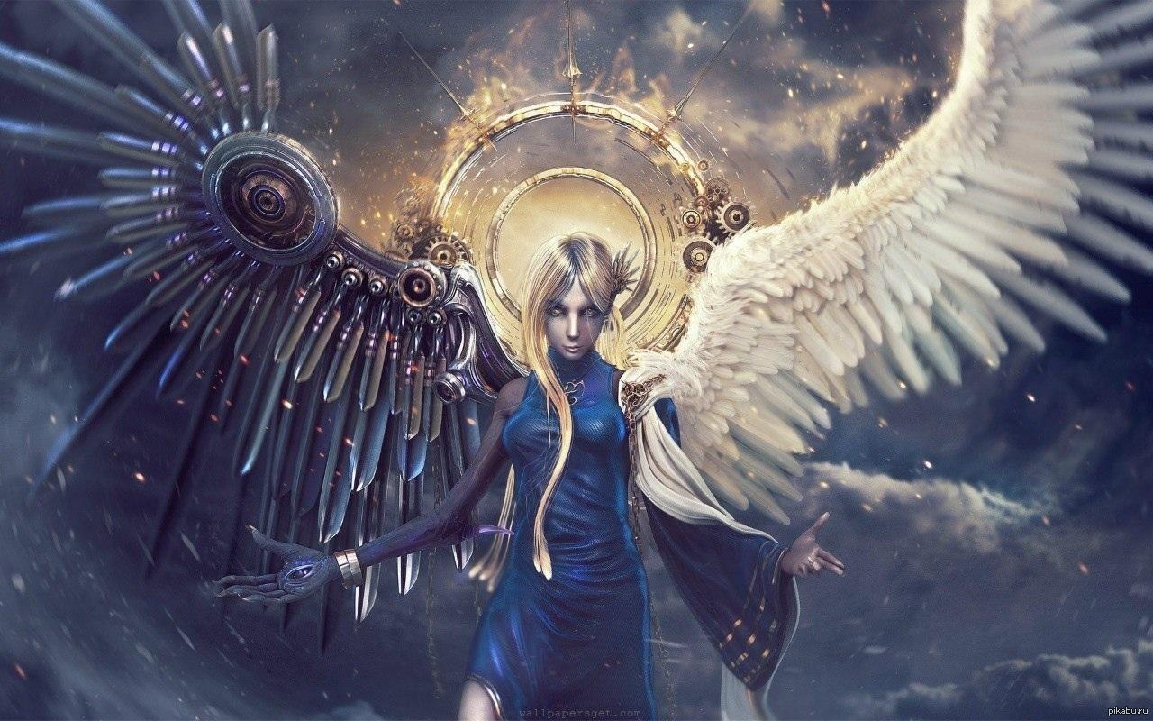 Обои На Стол Ангелы