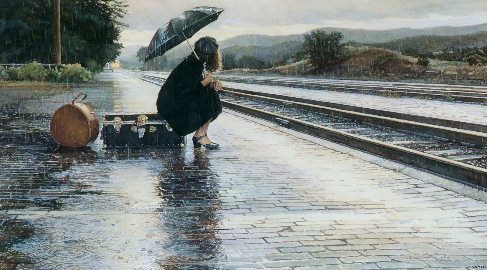 sad rainy pics - HD2048×1152