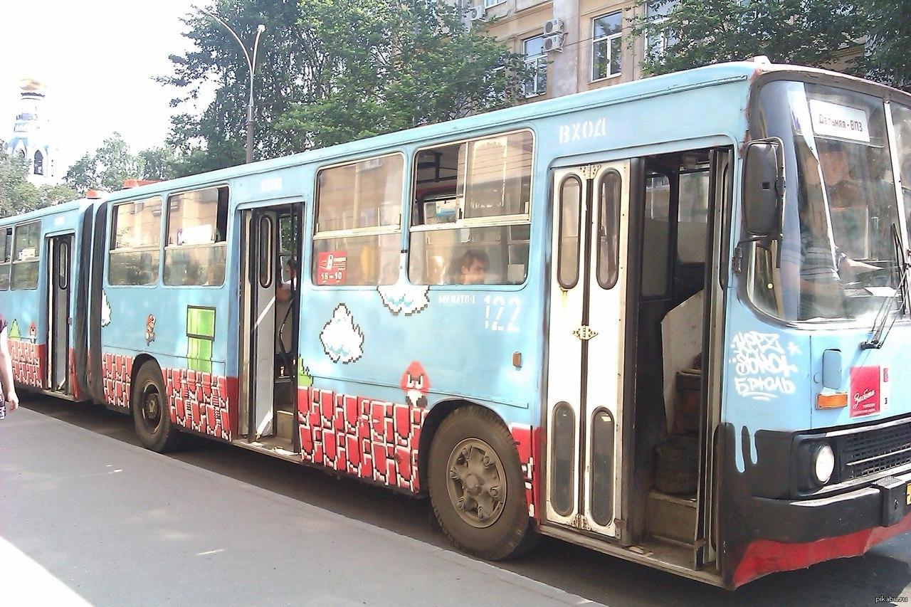 Смешные картинка автобуса