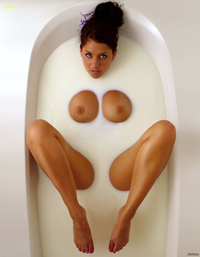 много молока из сисек