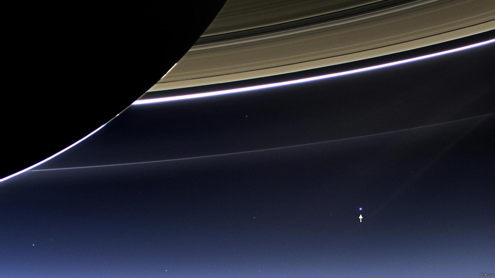 earth from saturn - HD1600×900