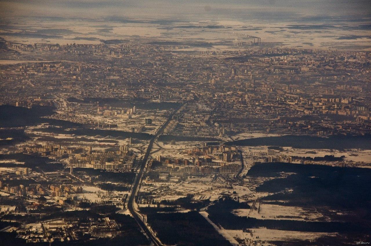 фото минск с высоты птичьего полета