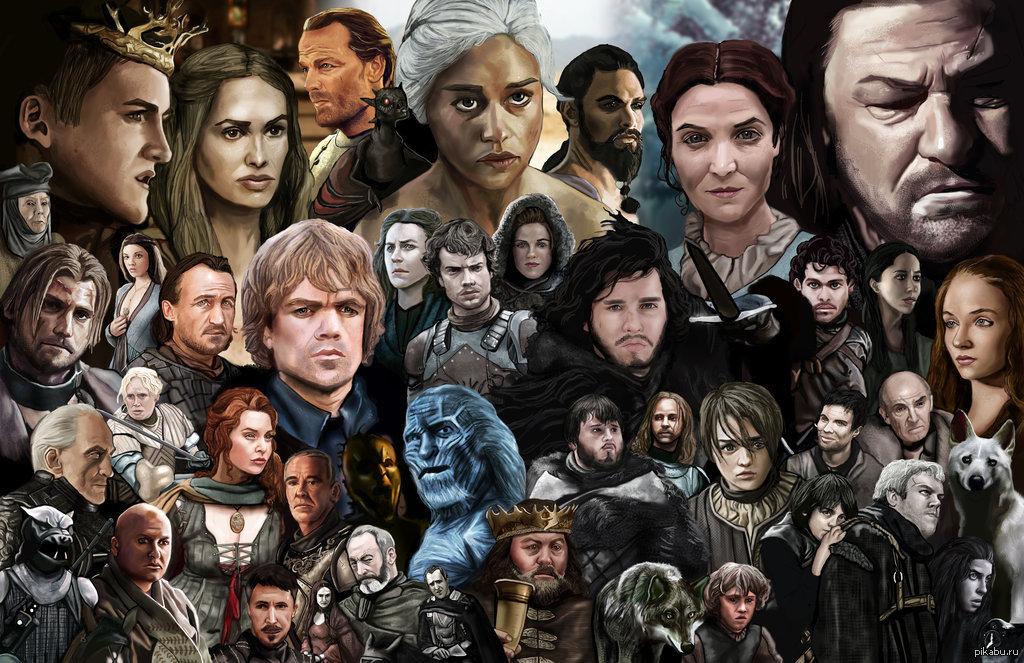 игры престолов персонажи с фото