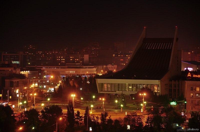 омск ночь картинки