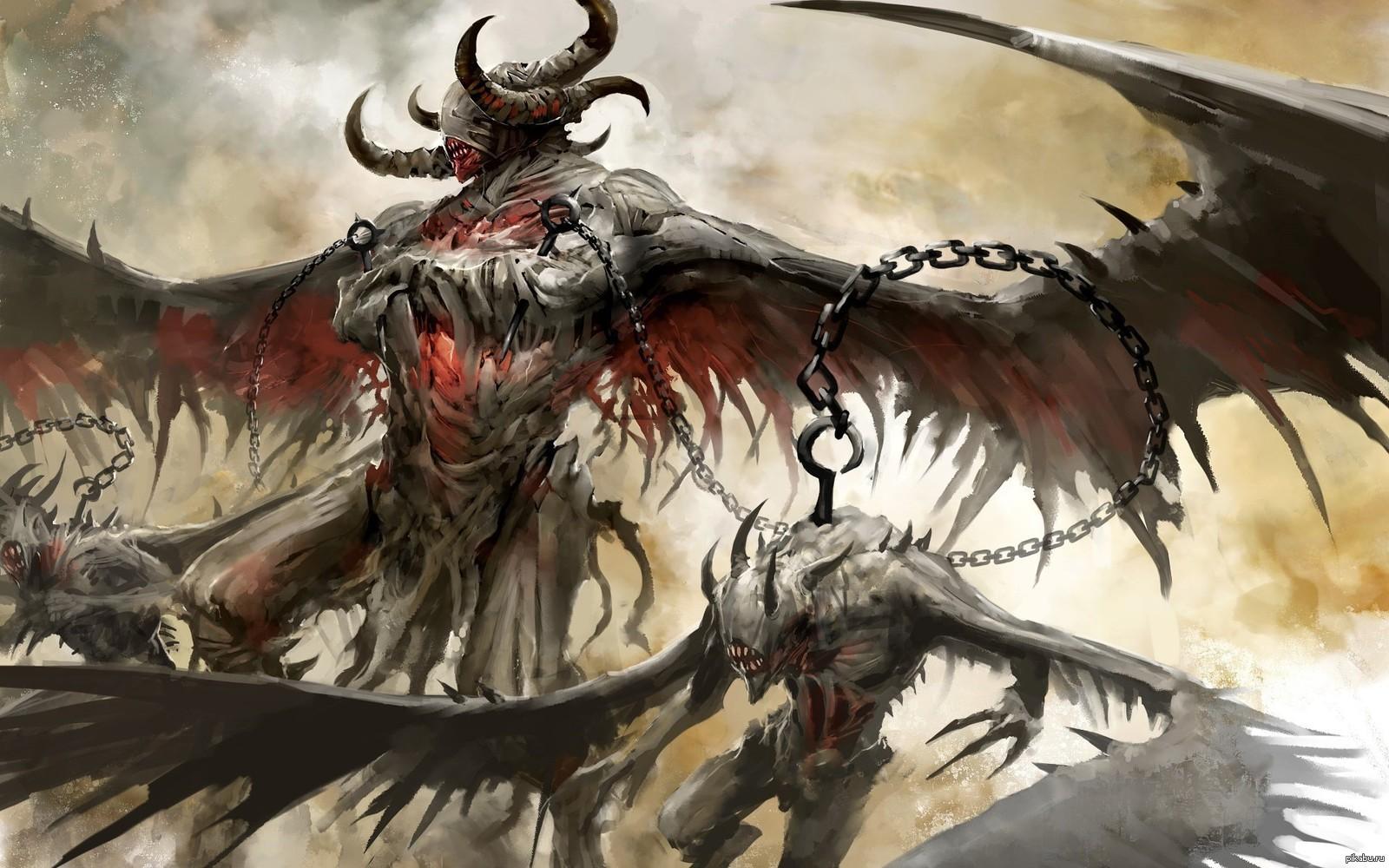 Скачать Обои Демон