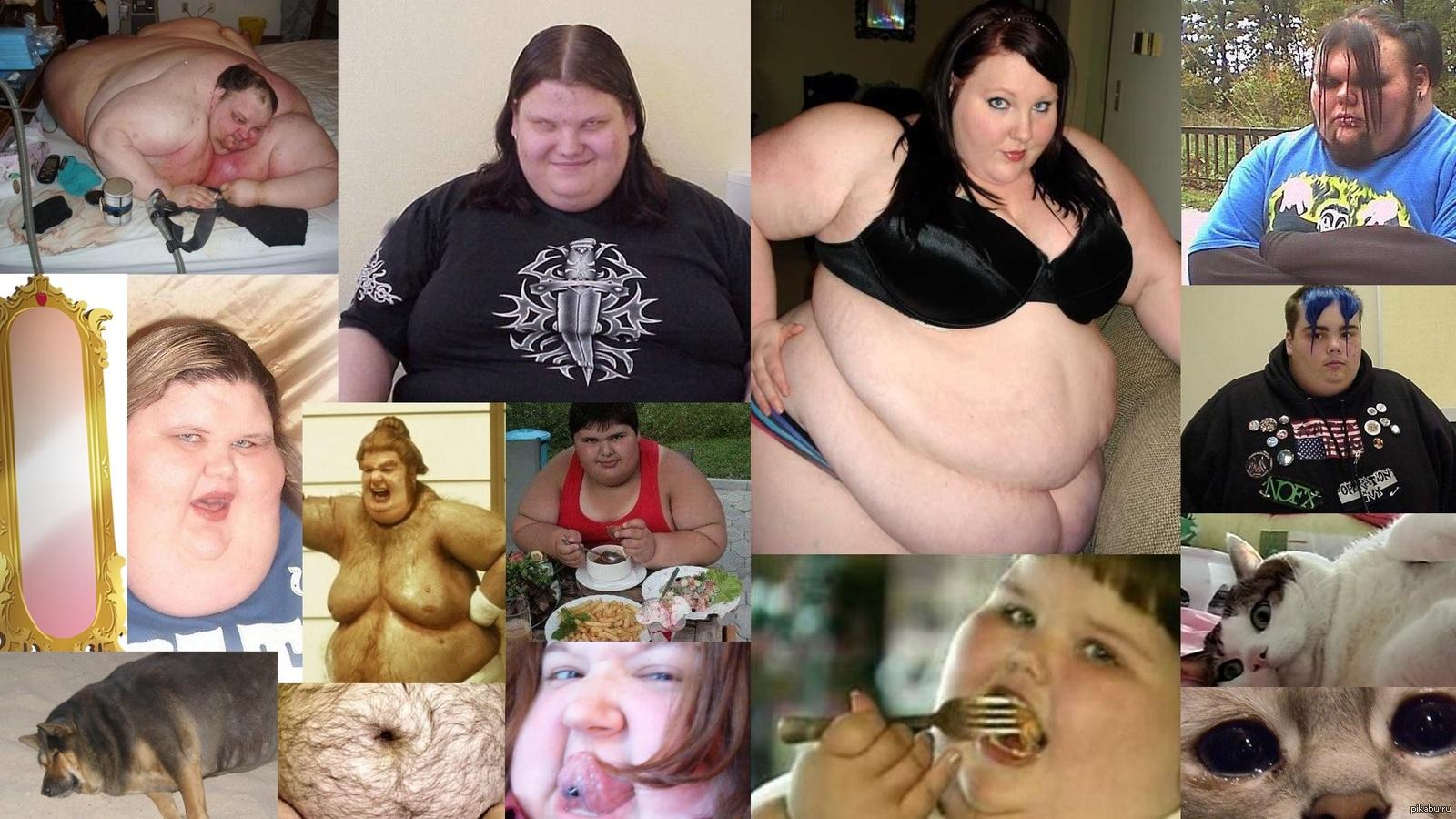 Худой парень ебет толстую жопу, Толстый мужик ебёт девчонку (видео) 17 фотография