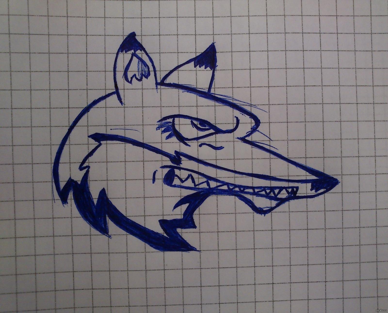 Крутые рисунки для срисовки ручкой