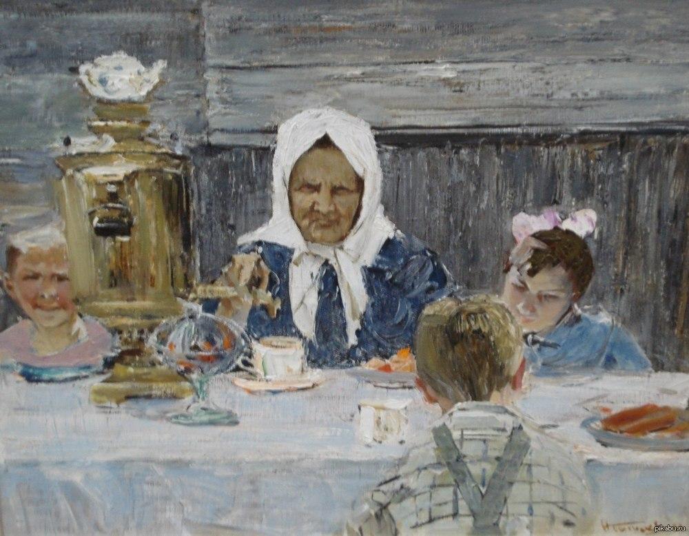 в гостях у бабушки картинка