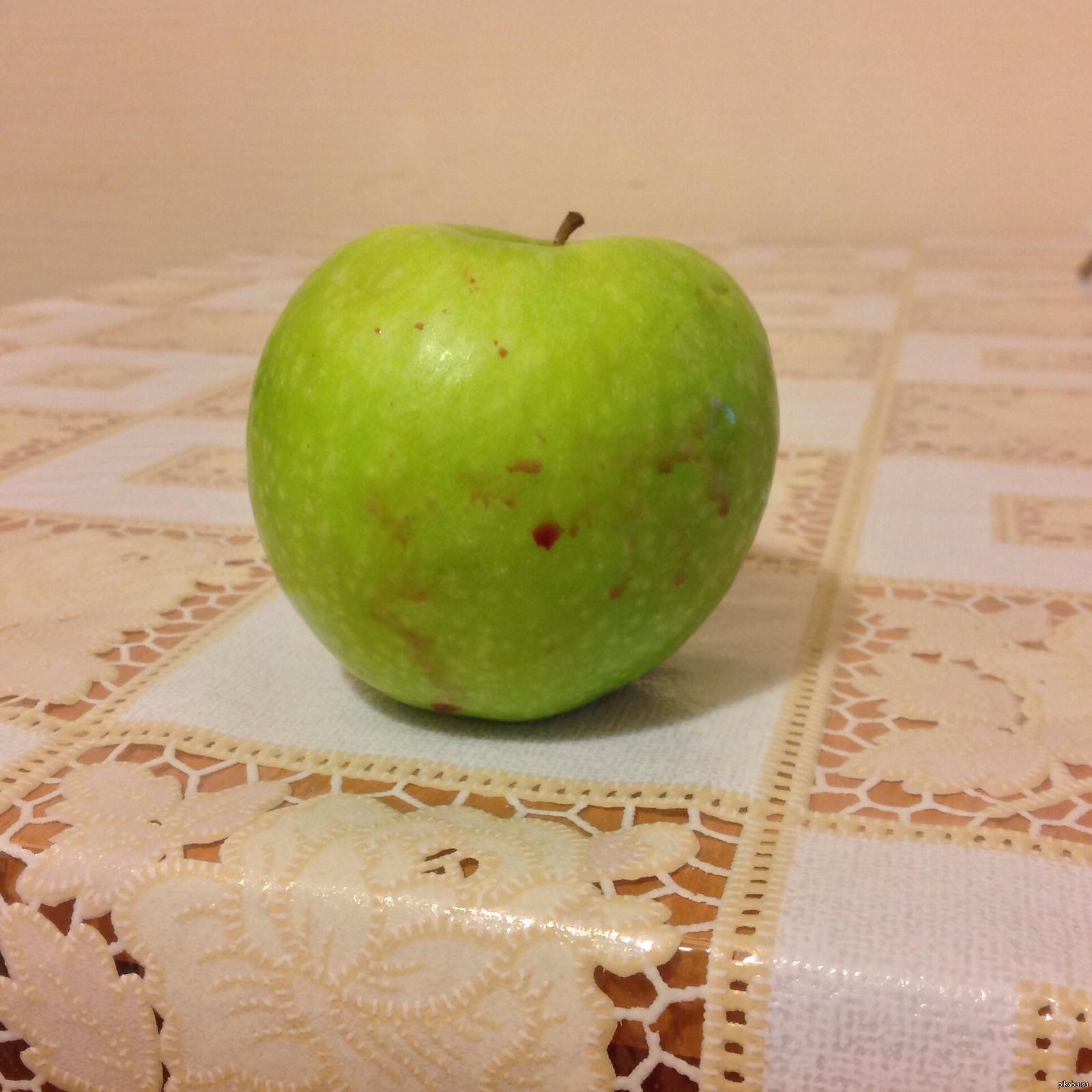 Если девушка угощает яблоком