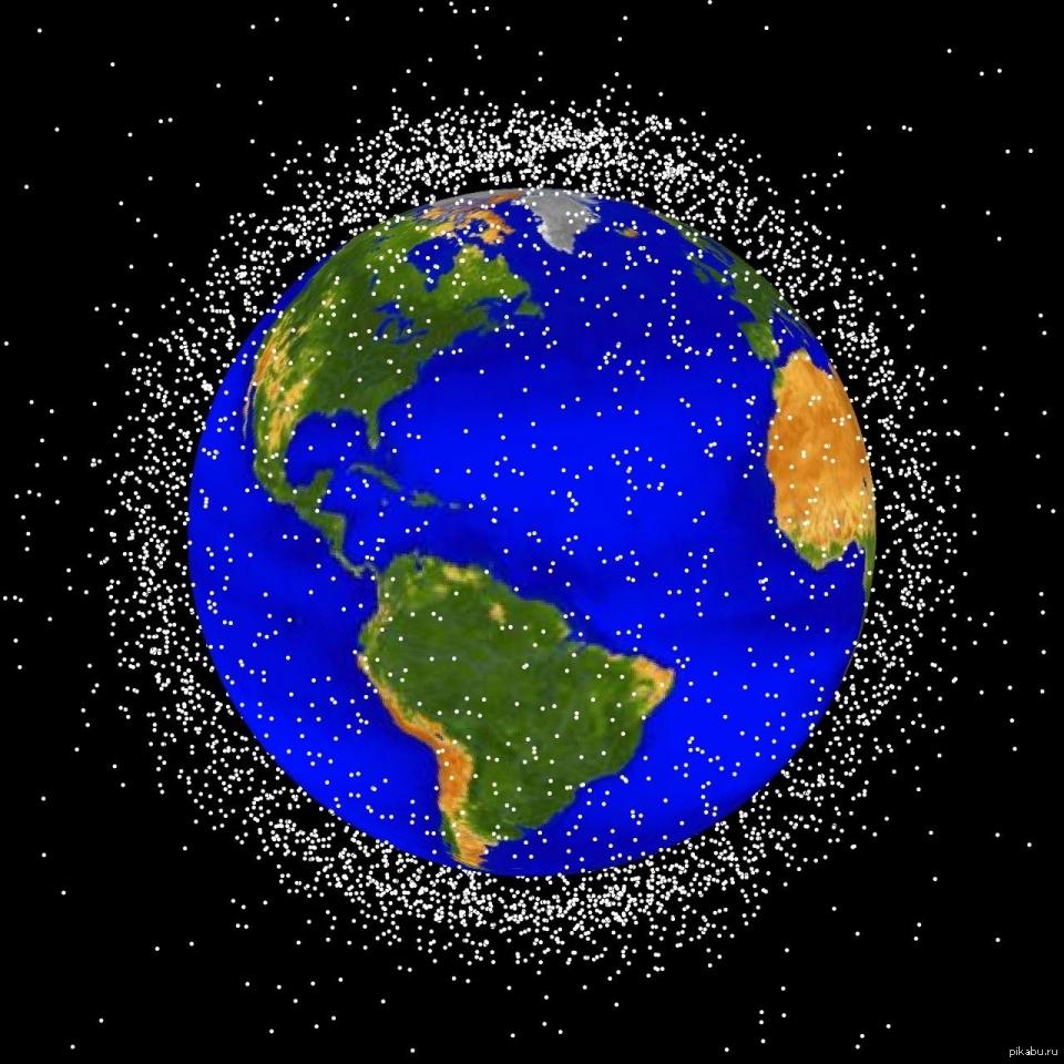 nasa orbital debris - HD1280×1280