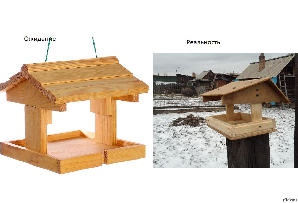 альберт будет пошаговое фото изготовления деревянной кормушки этом уроке