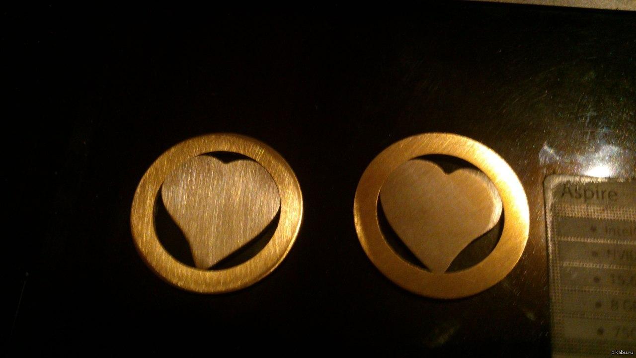 Медальоны из монет своими руками