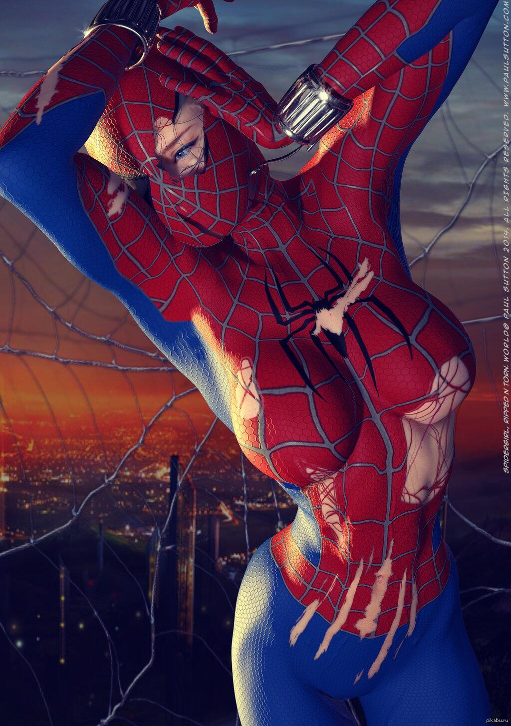 человека паука картинки