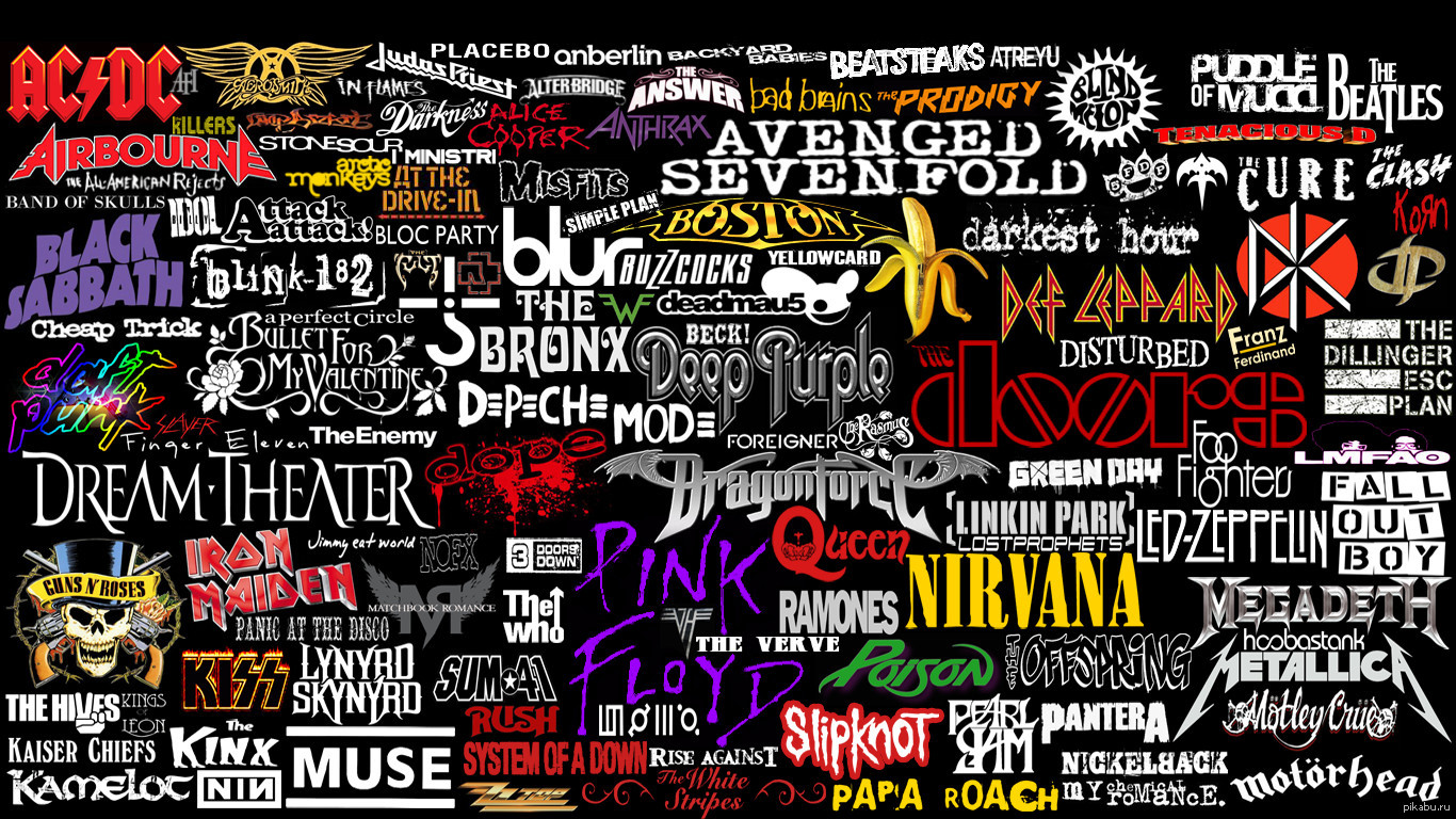 название рок групп картинки